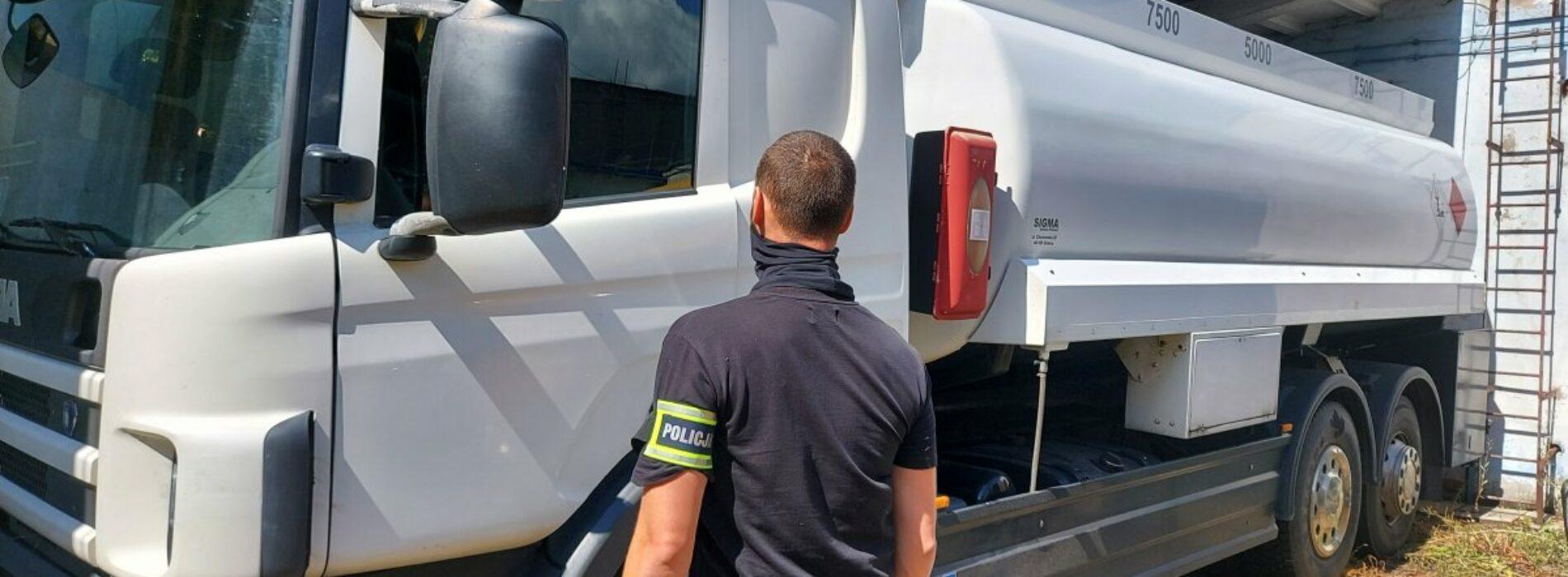 Tymczasowy areszt dla sprawców kradzieży cysterny z paliwem